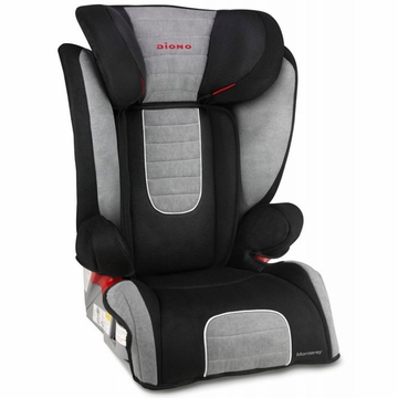 Diono Monterey Booster Car Seat - Grey
