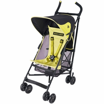 Maclaren Volo Stroller 2008 Citrus Lime Green / Black
