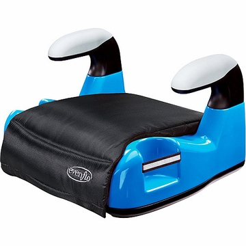 Evenflo Big Kid AMP No Back Booster Seat, Blue