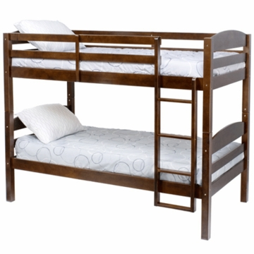 DaVinci Bailey Convertible Bunk Bed in Espresso