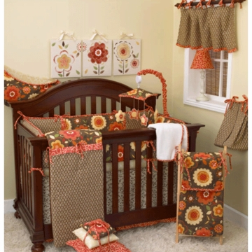 Cotton Tale N. Selby Peggy Sue 4 Piece Crib Bedding Set