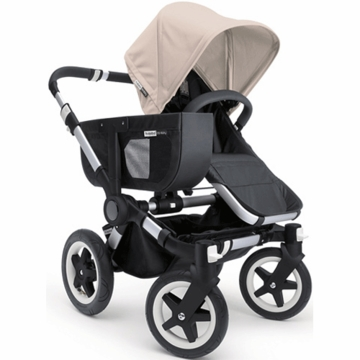 Bugaboo Donkey Mono Stroller in Black/Off-White