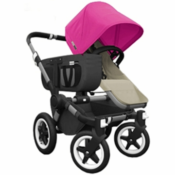 Bugaboo Donkey Mono Stroller in Sand/Pink