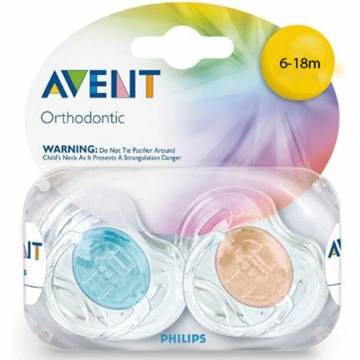 Avent Translucent Pacifiers 6-18 Months