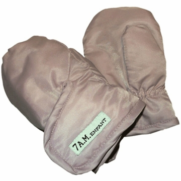 7 A.M. Enfant Mittens 500 Ex-Large 2-4 Years in Beige