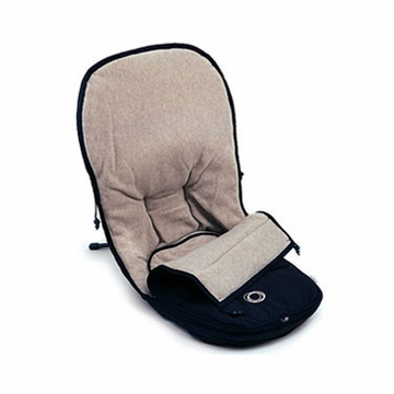 Bugaboo Frog Footmuff in Black