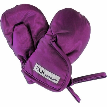 7 A.M. Enfant Mittens 500 Large 12-24 Months in Grape