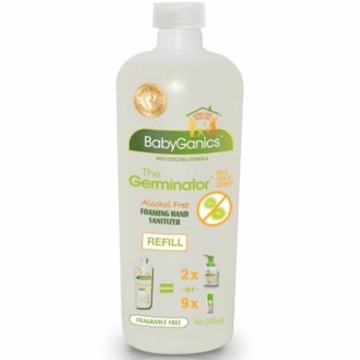BabyGanics Alcohol Free Foaming Hand Sanitizer - Refill