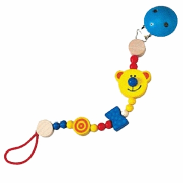Haba Teddy Bear Pacifier Chain