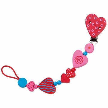 Haba Hearts Pacifier Chain