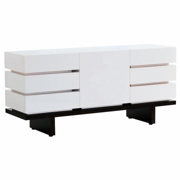 Nurseryworks 3-Wide Dresser - Solid Doors- Dark