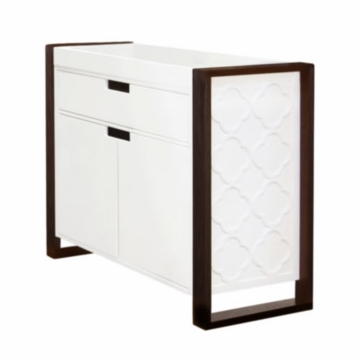 Nurseryworks Abbey Changer in White