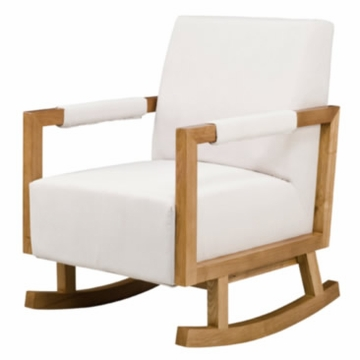 Nurseryworks Bungalow Rocker - Ecru (Light Legs)