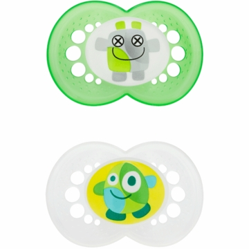 MAM Baby MAM Monsters Pacifier in Neutral
