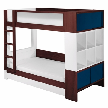 Nurseryworks Duet Bunk Bed - Dark