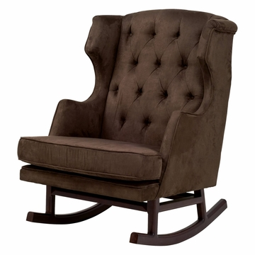 Nurseryworks Empire Rocker - Mocha (Dark Legs)