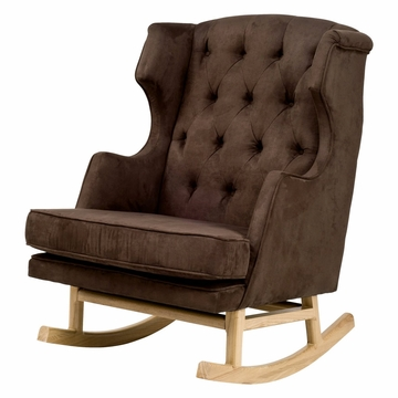 Nurseryworks Empire Rocker - Mocha (Light Legs)
