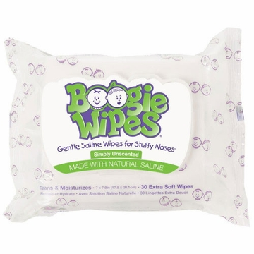 Boogie Wipes Unscented (30 count)