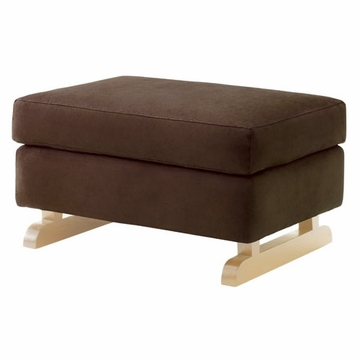 Nurseryworks Perch Stool in Mocha with Light Base