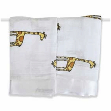 Aden + Anais Issie Security Blankets - 2 Pack - Duke Giraffe