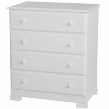 DaVinci Kalani Four Drawer Dresser White
