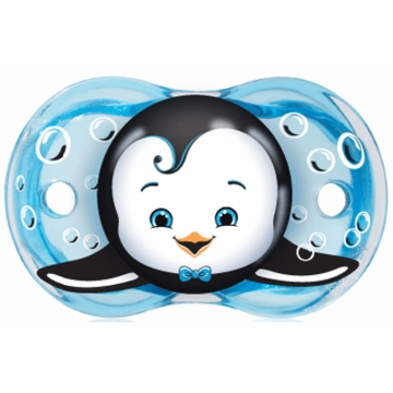 Razbaby Keep it Kleen Pacifier in Ethan Penguin