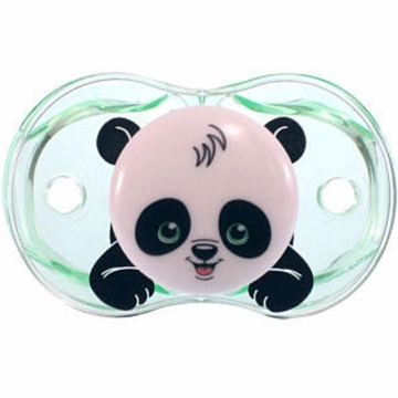Razbaby Keep it Kleen Pacifier in Panky Panda