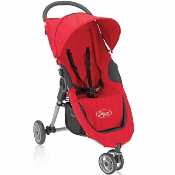 Baby Jogger City Micro Single Stroller in Red