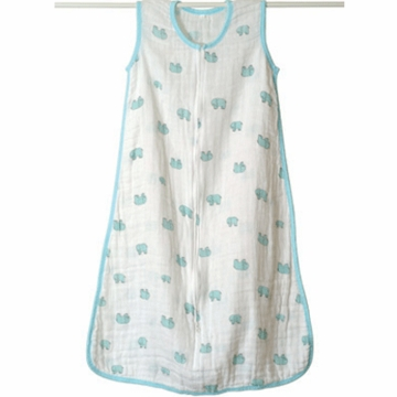 Aden + Anais Muslin Sleeping Bag - Jungle Jam Elephant - Medium