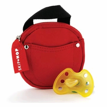 Skip Hop Pacifier Pocket in Red