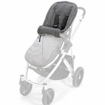 UppaBaby BabyGanoosh in Mica Silver