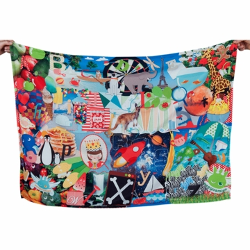 Weegoamigo Adventure Blanket - ABC