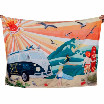 Weegoamigo Adventure Blanket - Beach Babies