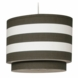 Oilo Stripe Double Cylinder Light in Brown