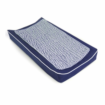 Oilo Changing Pad Cover & Topper in Cobalt Blue