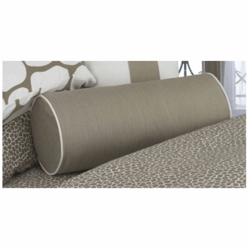 Oilo Bolster Pillow in Taupe
