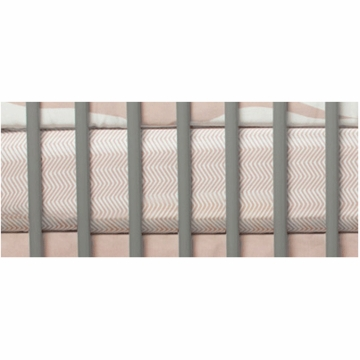 Oilo Crib Sheet in Blush
