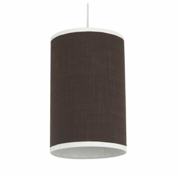 Oilo Solid Cylinder Light in Brown