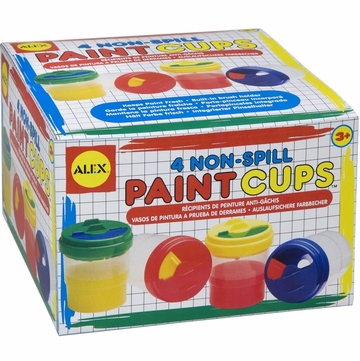 Alex Non-Spill Paint Cups 4 Pack
