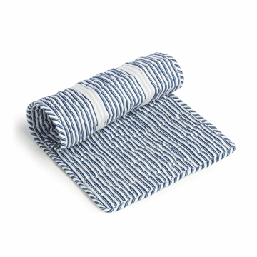 Oilo Extra Changing Pad Topper in Cobalt Blue