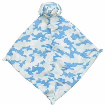 Angel Dear Blue Camo Puppy Blankie