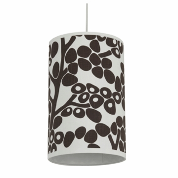 Oilo Modern Berries Cylinder Light in Brown