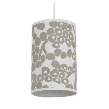 Oilo Modern Berries Cylinder Light in Taupe