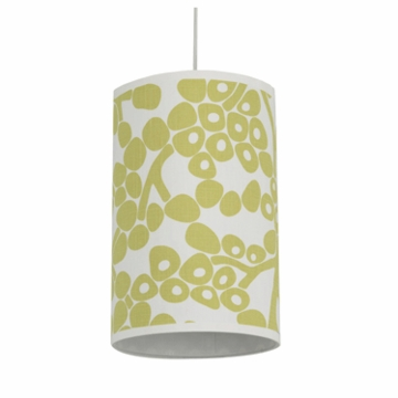Oilo Modern Berries Cylinder Light in Spring Green