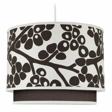 Oilo Modern Berries Double Cylinder Light in Brown