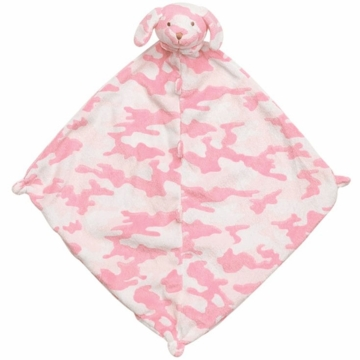 Angel Dear Pink Camo Puppy Blankie