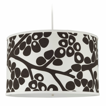 Oilo Modern Berries Large Cylinder Light in Brown
