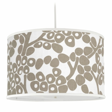 Oilo Modern Berries Large Cylinder Light in Taupe