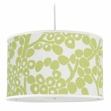 Oilo Modern Berries Large Cylinder Light in Spring Green