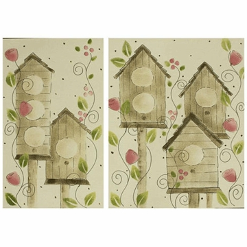 Cotton Tale N. Selby Raspberry Dot Wall Art
